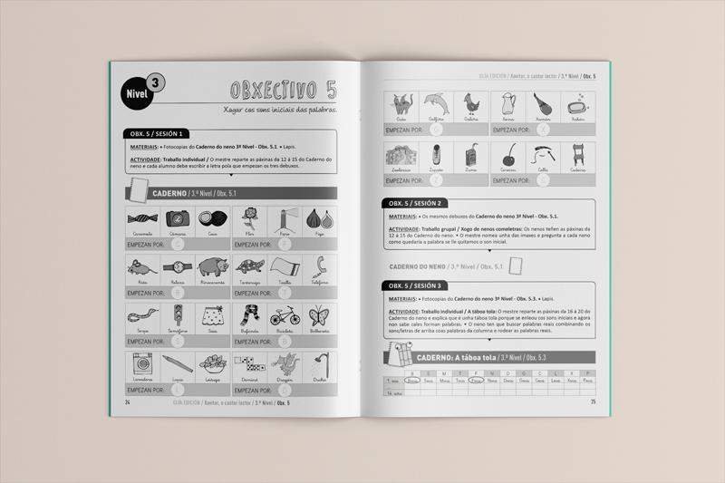 GliaEdicion: Xavitor, o castor lector: Guía d@ mestre