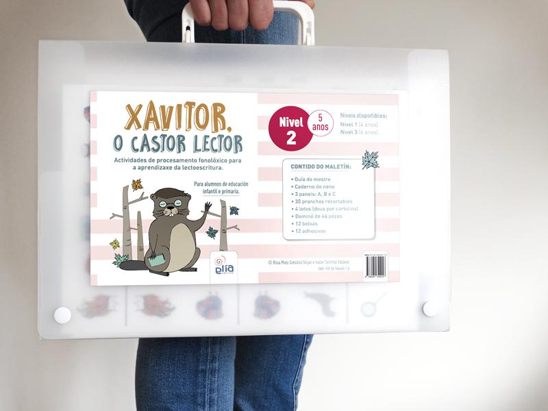 GliaEdicion: Xavitor, o castor lector: Maletín Nivel 2