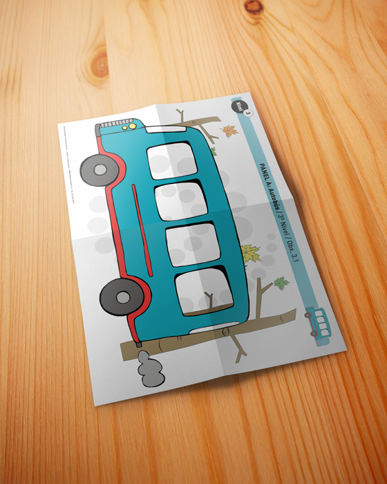 GliaEdicion: Xavitor, o castor lector: Panel Autobús